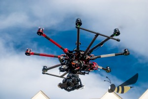 DJI S1000 with Canon 5D Mark III