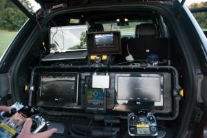 Vehicle-based UAV ground station