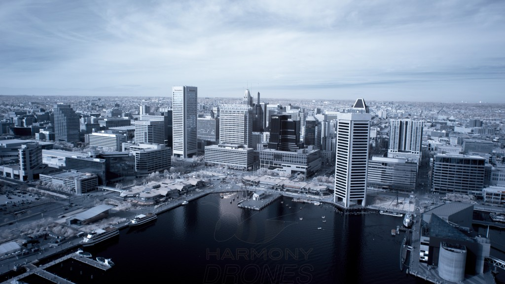 Baltimore Inner Harbor - Infrared Photography