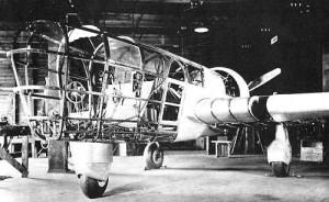 Explorer under Construction, 1936. Photo credit to Abrams Aerial Survey.