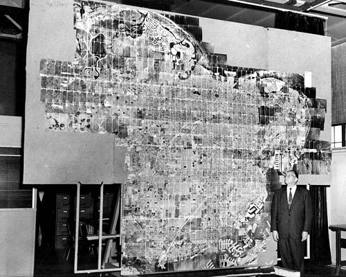 Ted Abrams Admires Mapping Job Flown by Wayland Mayo and Grant Kettles. ST. Petersburgh, Florida. 21 Flight Lines, Over 700 Photos. Photo Credit to Wayland Mayo